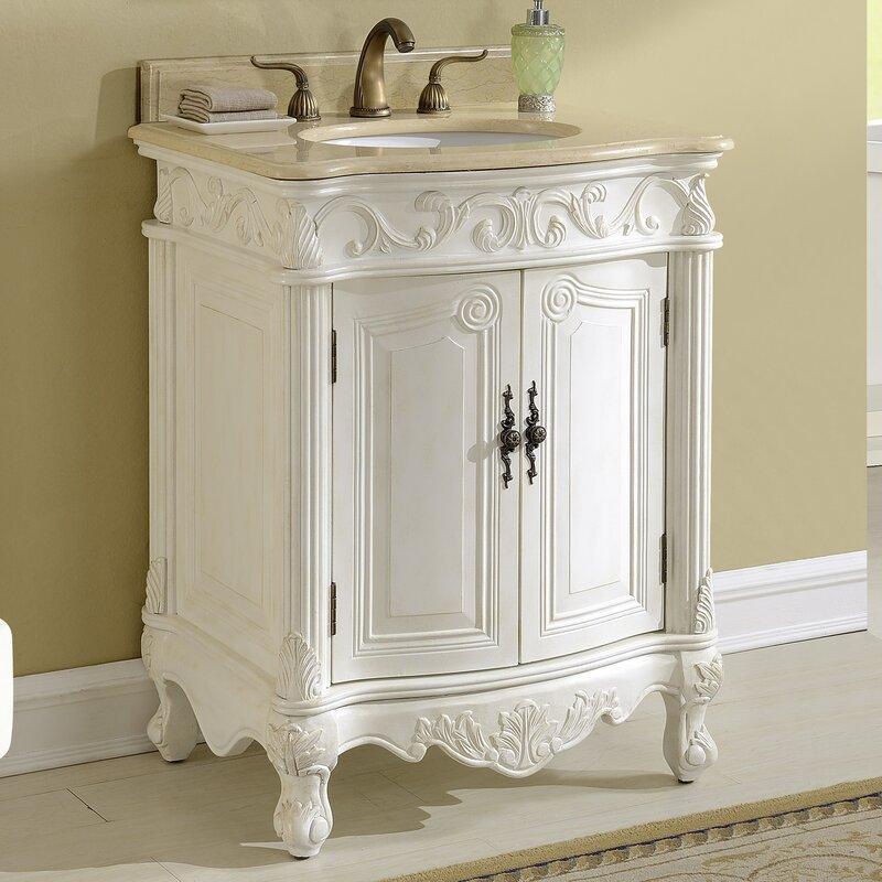 Astoria Grand Alexis 27 Single Bathroom Vanity Set Reviews Wayfair