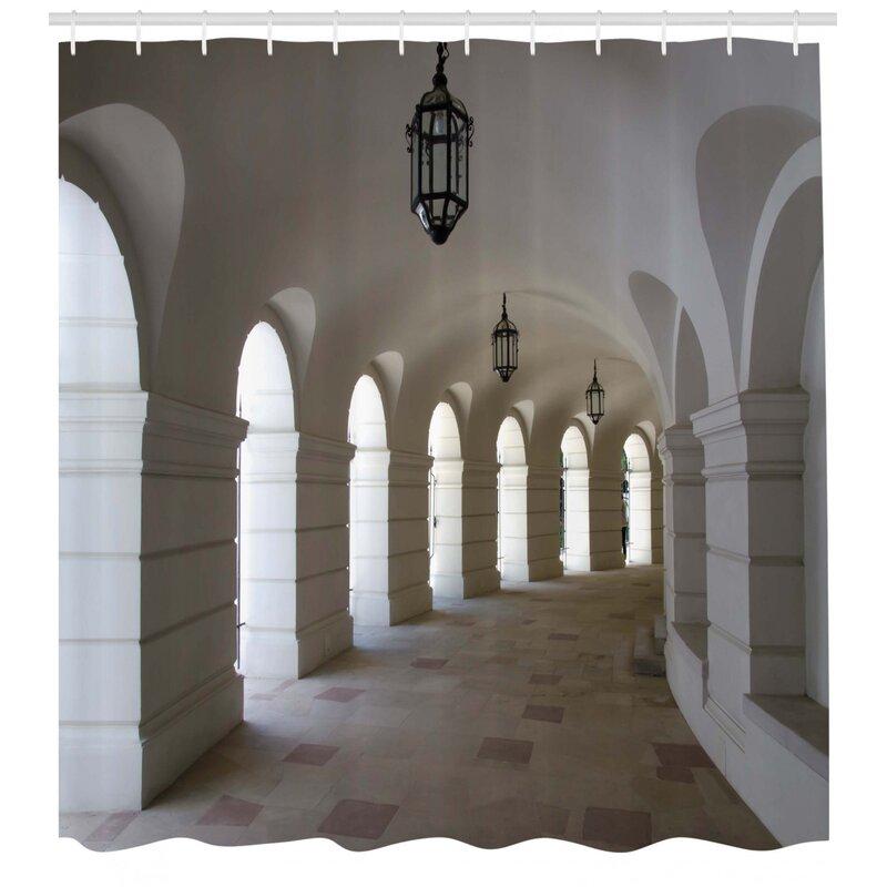 East Urban Home Buildings With Arche Decor Shower Curtain Hooks Wayfair