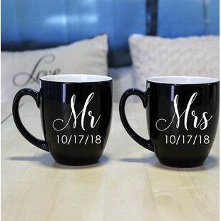 Peirce Bistro Coffee Mug (Set of 2)