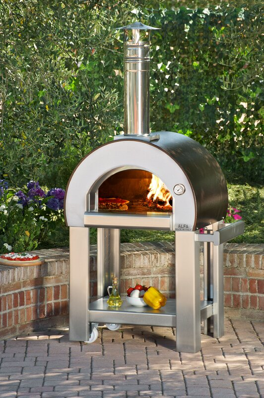 pizza ovens sku alfp1004 - Wood Fired Oven