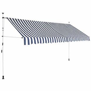 Chamois W 3.5 X D 1.2m Retractable Patio Awning By Sol 72 Outdoor