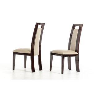 Brayden Studio Straughter Upholstered Dining Chair (Set of 2)