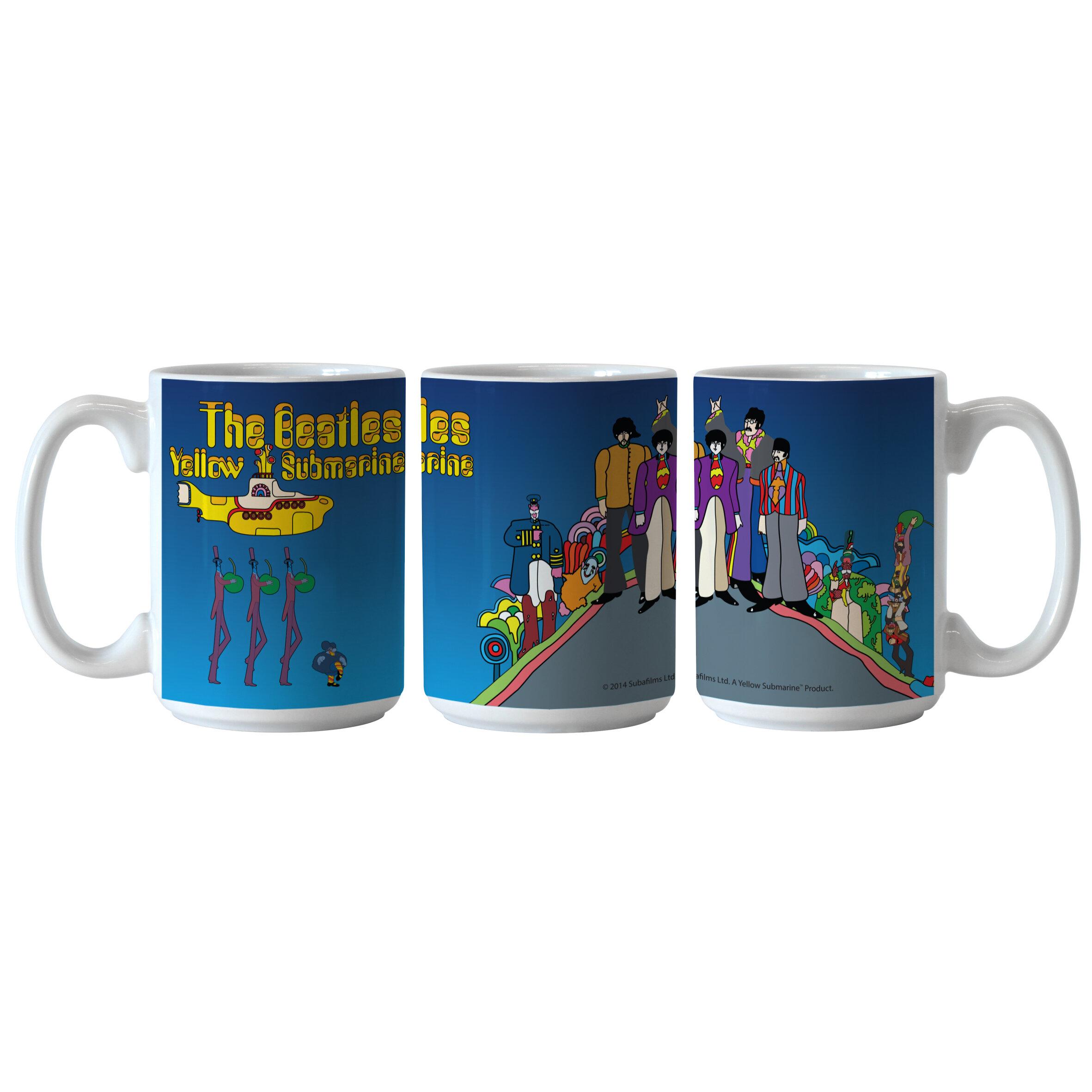 Boelter Brands Beatles Yellow Submarine Hill Sublimated Mug Wayfair