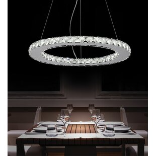 Bacon LED 18-Light Crystal Chandelier