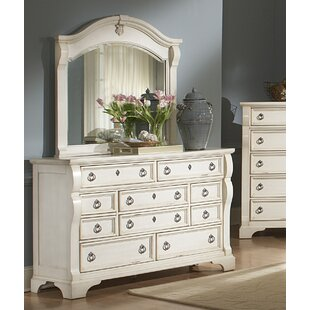 Rosehill 10 Drawer Dresser