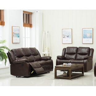 Jayesh 2 Reclining Piece Living Room Set