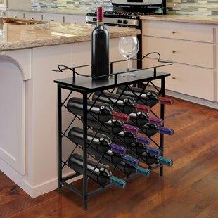 Mosser 13 Bottle Floor Wine Rack