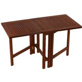 Kinner Folding Teak Dining Table