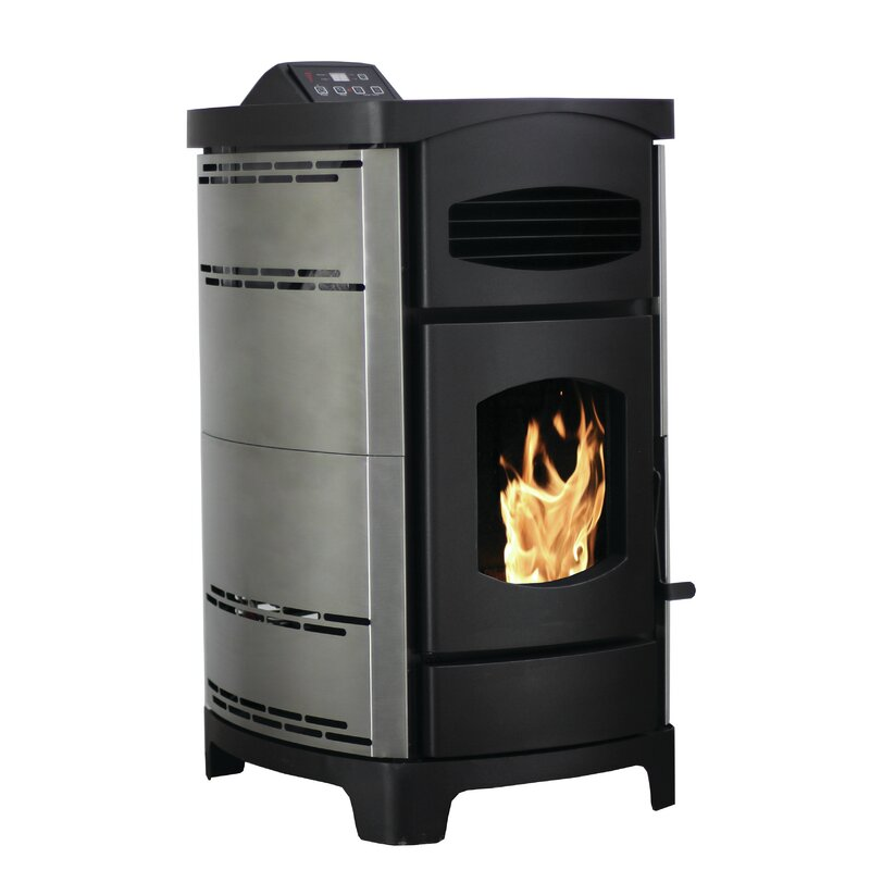Ashley Hearth 2,200 Sq. Ft. Direct Vent Pellet Stove