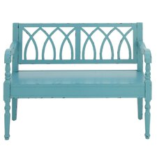 Bonifant Exclusive Wood Bench by Highland Dunes