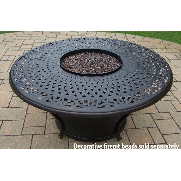 oakland living charleston gas firepit table and chairs u0026 reviews wayfair