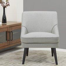 Donnellson Cream Barrel Chair by Ivy Bronx