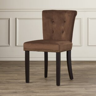 Elvie Traditional Solid Wood Side Chair by Willa Arlo Interiors New
