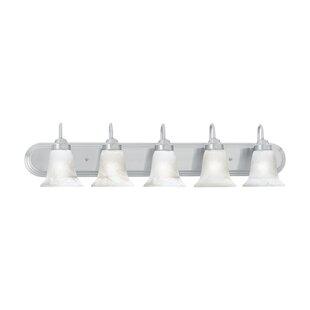 Three Posts Tiverton Strip 5-Light Vanity Light