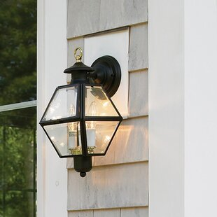 Find for Alam Metal 2-Light Outdoor Wall Lantern By Darby Home Co