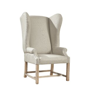 Kourtney Wingback Chair by One Allium Way