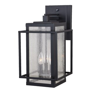 Guinn 3-Light Outdoor Wall Lantern