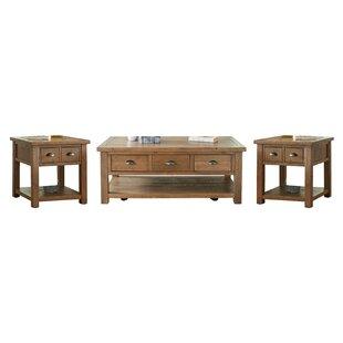 Seneca 3 Piece Coffee Table Set
