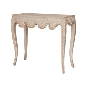 Mikayla Carved Cabriole Console Table By House Of Hampton