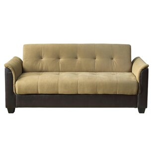 Forbes Tufted Storage Futon Sleeper