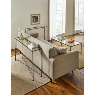 TFG Diversey Glass Console Table