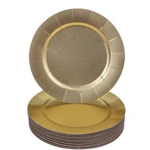 Disposable Charger Plates Wayfair