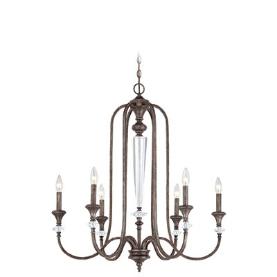 Lark Manor Lapierre 6-Light Candle Style Chandelier