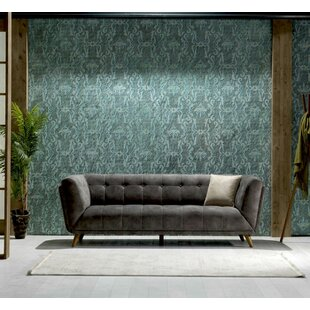 Danos Nubuck Chesterfield Sofa