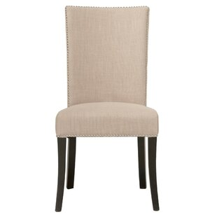 Mcgrath Upholstered Dining Chair (Set of 2) Canora Grey