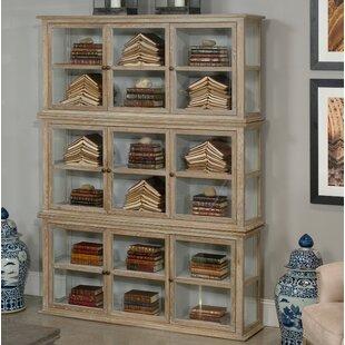 Sarreid Ltd Stacked Curio Cabinet