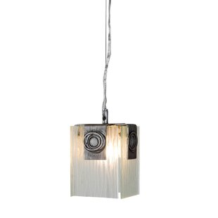 Greg 1-Light Square/Rectangle Pendant by Brayden Studio