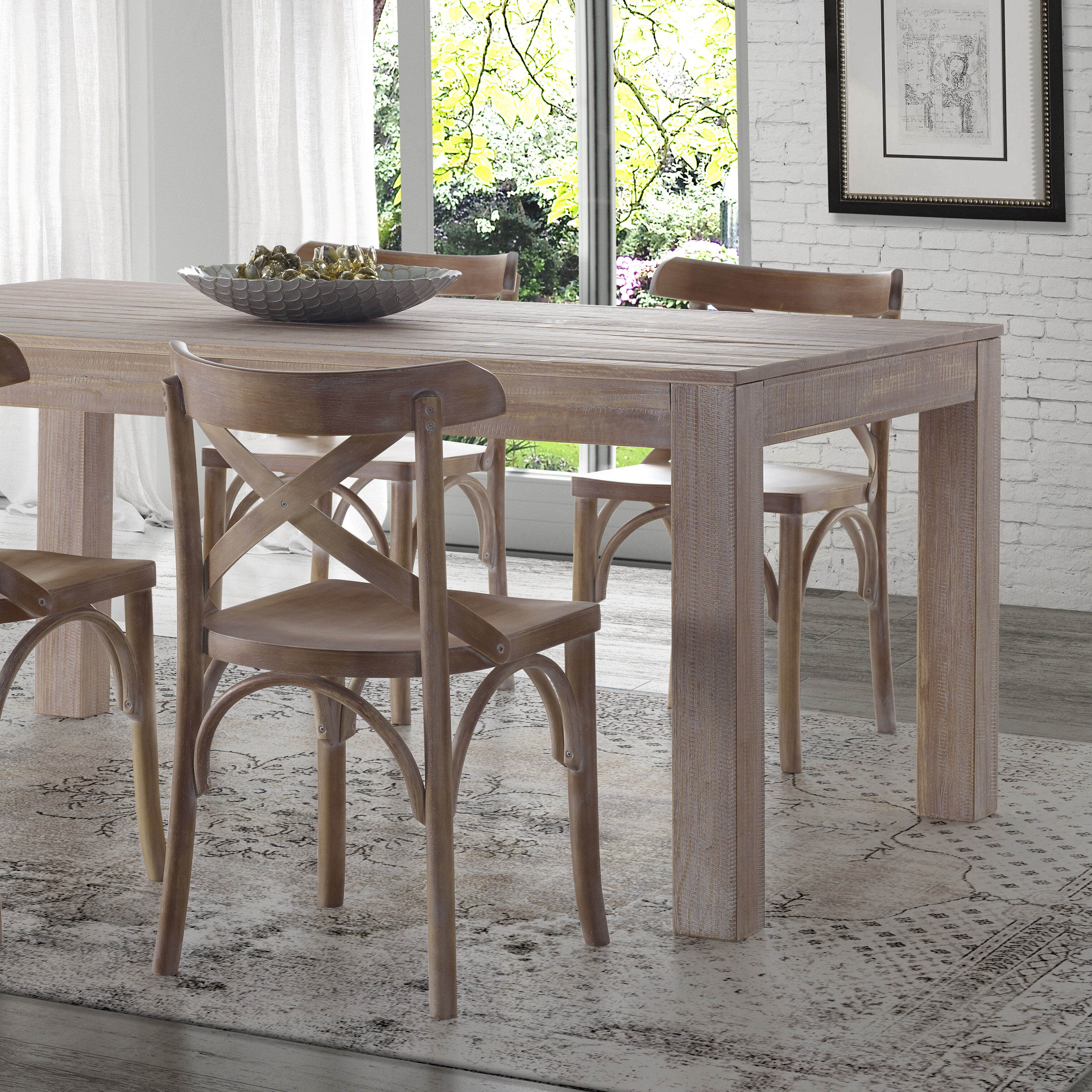 Grain Wood Furniture Montauk Solid Dining Table Reviews