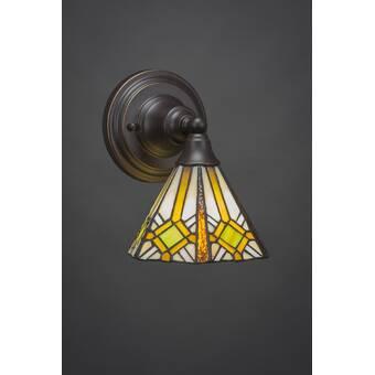 Astoria Grand Ratchford 1 Light Armed Sconce Wayfair