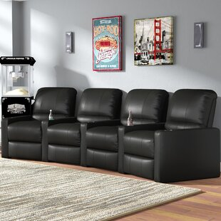 Home Theater Curved Row Seating (Row of 4)