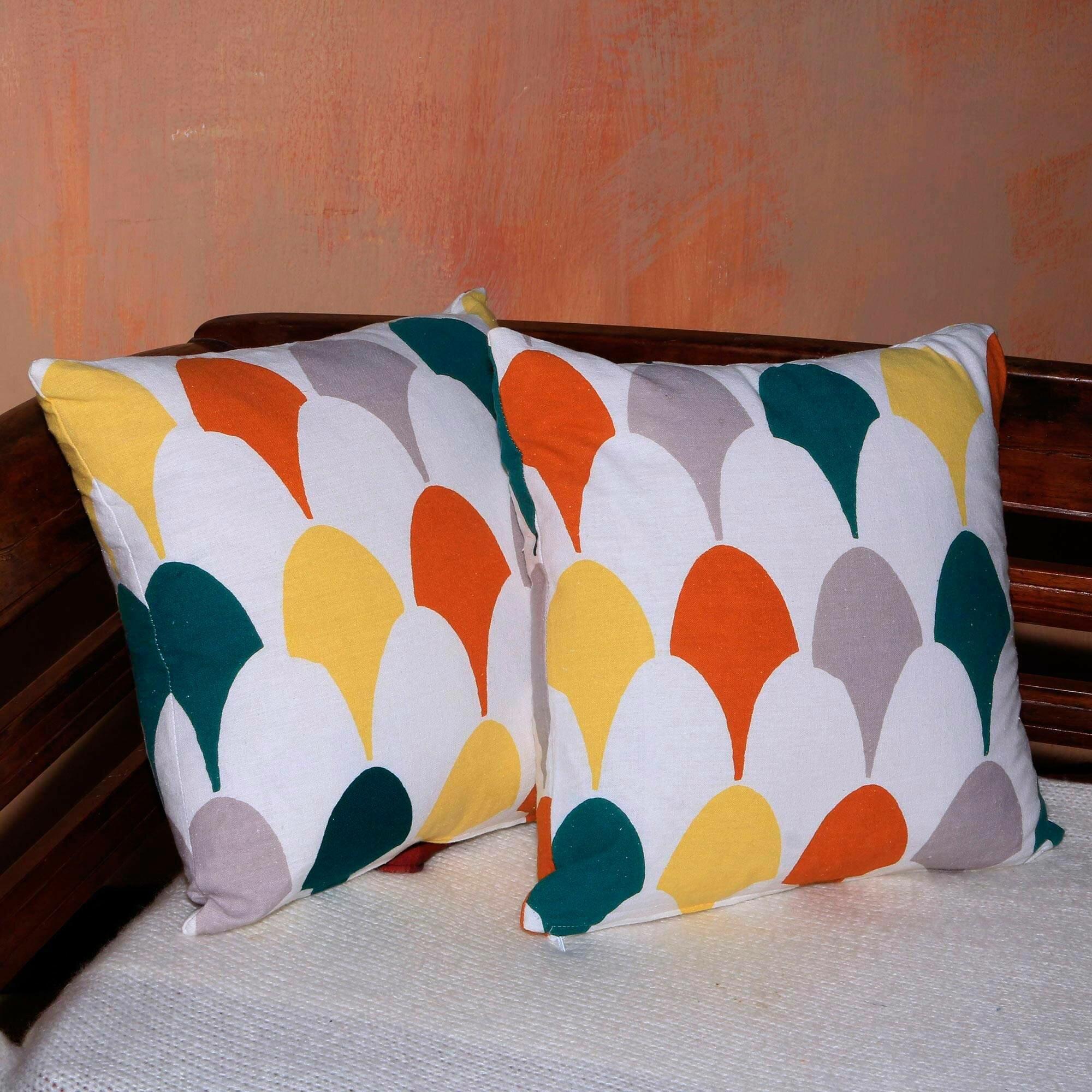 Ebern Designs Karesinda Cotton 17 75 Throw Pillow Cover Wayfair