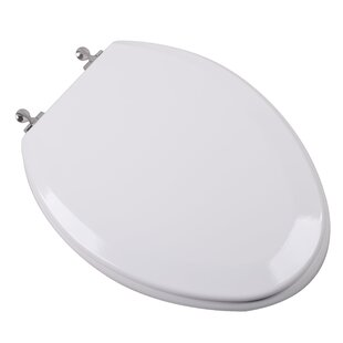 Plumbing Technologies LLC Premium Molded Wood Elongated Toilet Seat