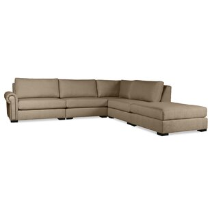 Willia Plush Deep Modular Sectional with Ottoman