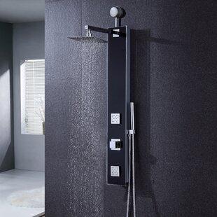 dual shower head shower. Diverter Dual Shower Head Panel