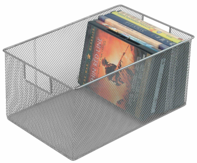 Great YBM Home Mesh Open Bin Storage Basket DVD Cd Book Holder Closet Cabinet  Organizer U0026 Reviews | Wayfair