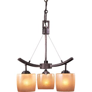 Minka Lavery Raiden 3-Light Shaded Chandelier