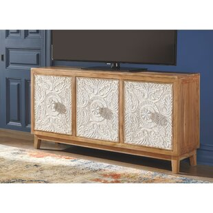 Yuvaan 3 Door Accent Cabinet by Bungalow Rose