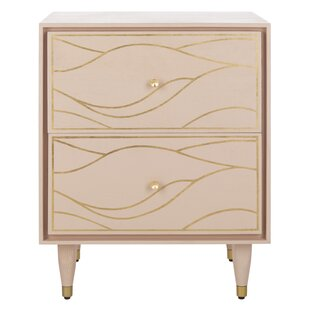 Clarkfield Wave 2 Drawer Nightstand