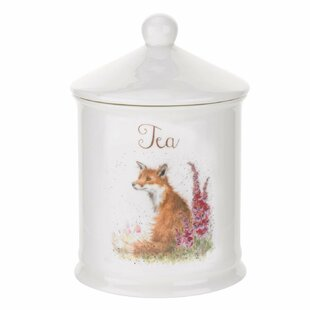 Wrendale Designs Coffe Canister Bright Eyes Kitchen Canister