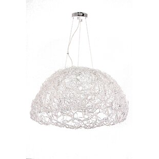 Wrought Studio Stoffel 20-Light Dome Pendant