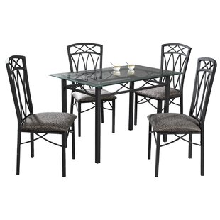 Del 5 Piece Dining Set Red Barrel Studio