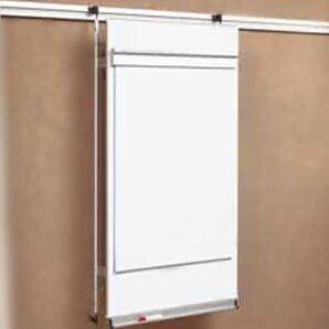 peter pepper tactics plus track level 2 flip chart wall mounted whiteboard 4u0027 h x 3u0027 w wayfair