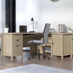 Where buy  Shelby L-Shape Executive Desk ByLaurel Foundry Modern Farmhouse