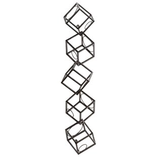 Dali 5 Bottle Wall Mounted Wine Rack by C..