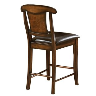 Natalya Wooden Bar Stool by Darby Home Co