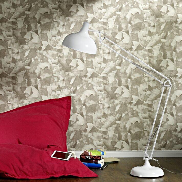 Walls Republic Torn 32 97 X 20 8 Abstract Wallpaper Wayfair